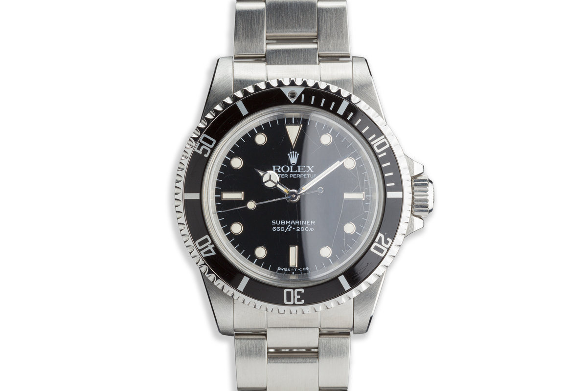 "1984 Rolex Submariner 5513 with Glossy ""Spider"" Dial photo, #0"