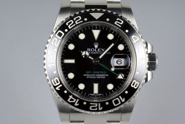 2015 Rolex GMT II 116710LN photo