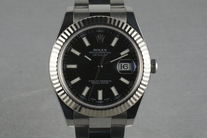 Rolex Datejust 2 116334 with Black Dial photo
