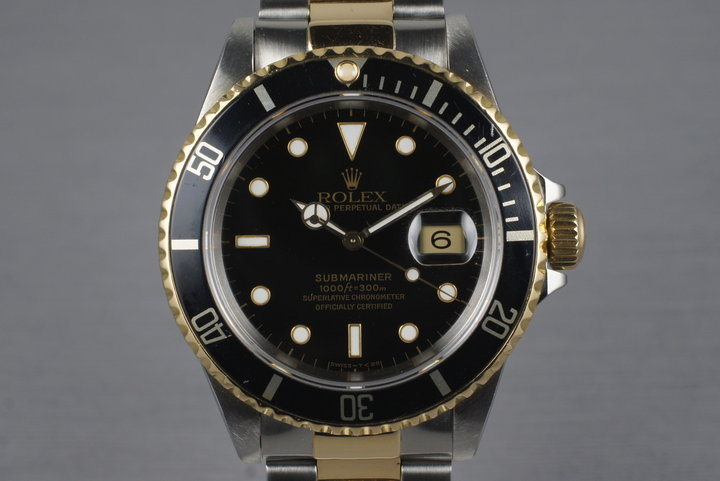 1995 Two Tone Submariner 16613 photo