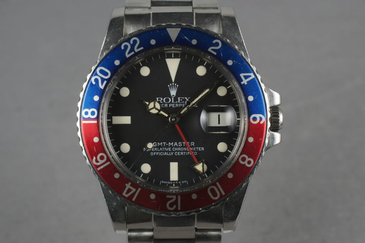 1983 Rolex GMT 16750 with Matte Dial photo