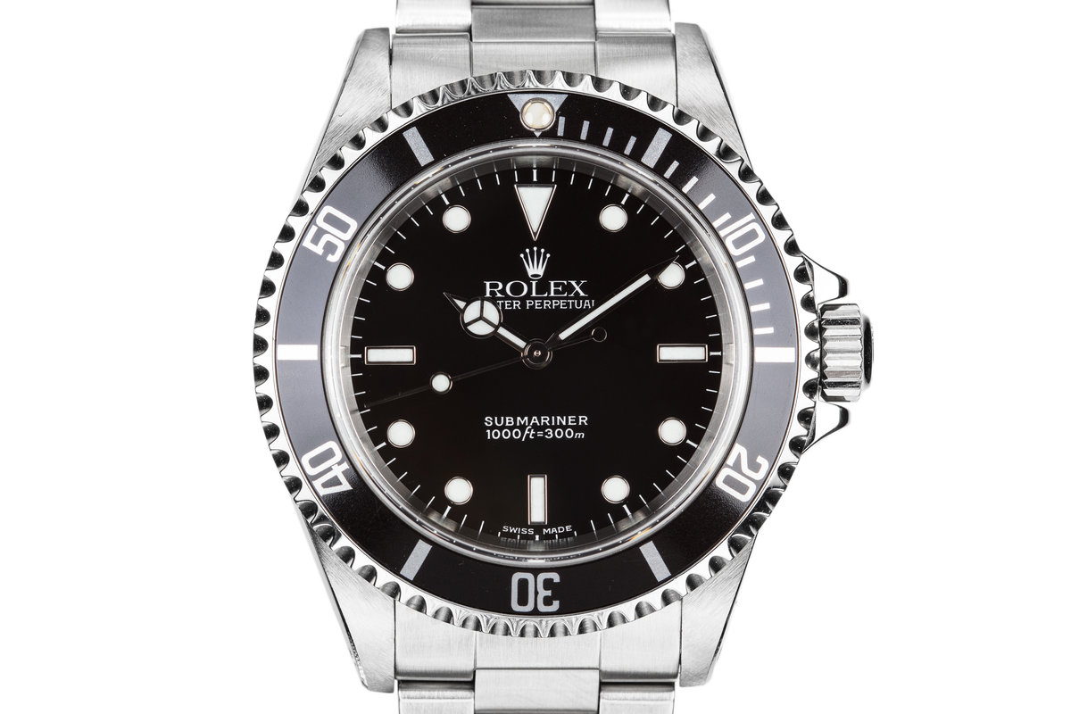 2000 Rolex Submariner 14060M photo, #0
