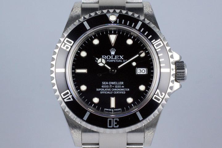 2006 Rolex Sea Dweller 16600 photo