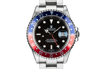 "2002 Rolex GMT-Master II16710 ""Pepsi"" with Box and Papers photo"