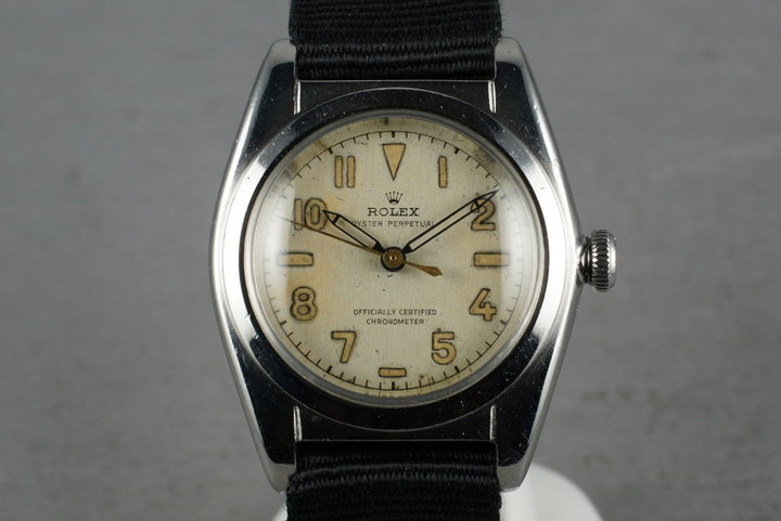 Rolex Bubble Back with Arabic dial photo