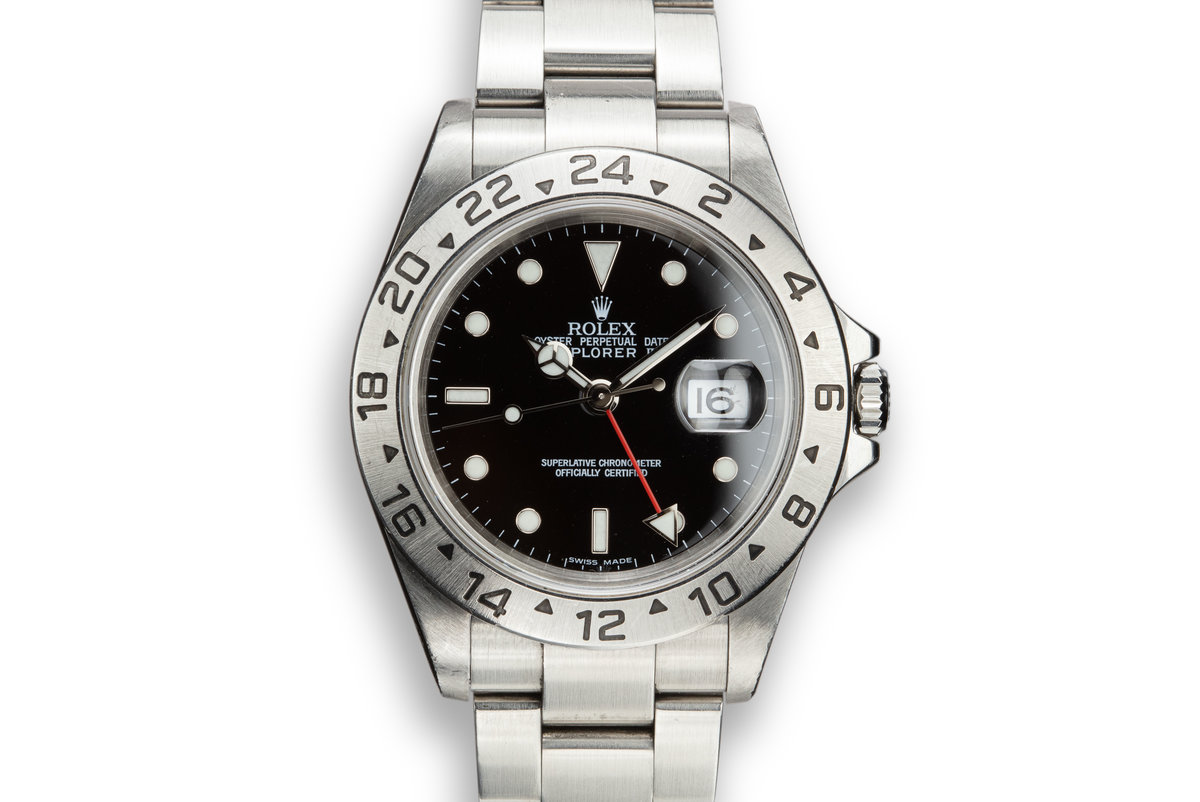 2003 Rolex Explorer II 16570 T Black Dial photo, #0