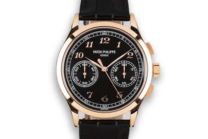 2017 Patek Philippe 18K Rose Gold Chronograph 5170R with Box and Papers photo
