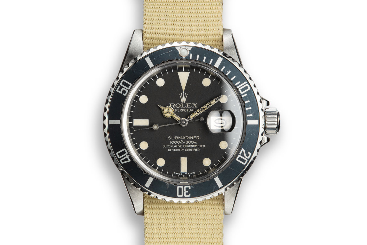 1982 Rolex Submariner 16800 photo, #0