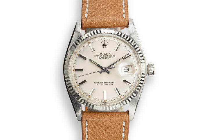1969 Rolex DateJust 1601 Silver Dial photo