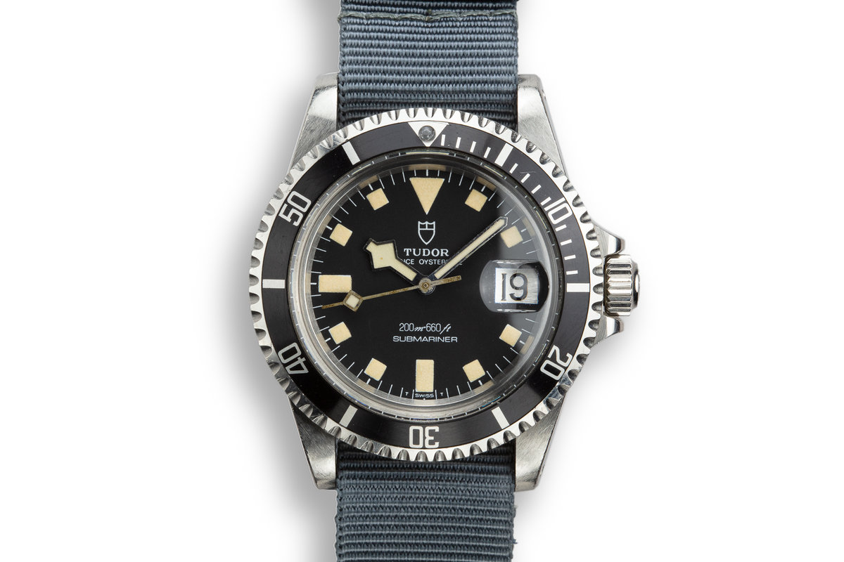 1981 Tudor Snowflake Submariner 94110 with Service Papers photo, #0