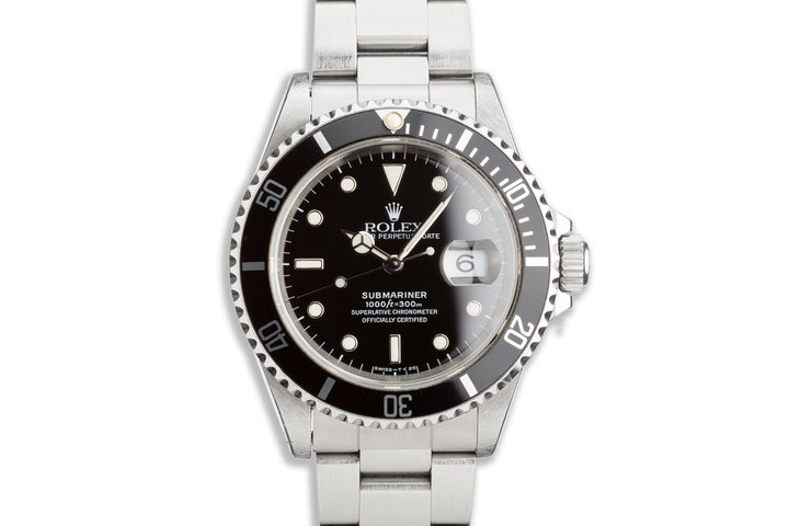 1993 Rolex Submariner 16610 photo