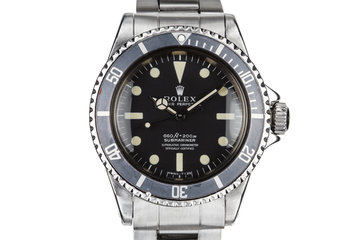 1972 Rolex Submariner 5512 with Kissing 40 Insert photo