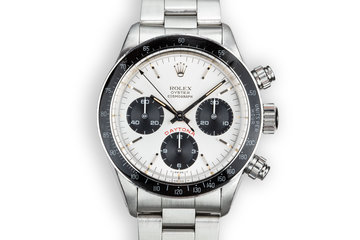 "1982 Rolex ""Big Red"" Daytona 6263 Silver Dial photo"