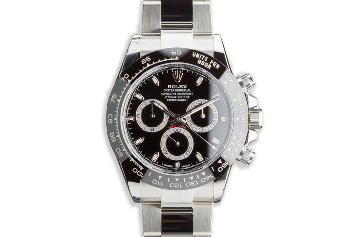 2020 Rolex Daytona 116500LN Black Dial with Box and Card photo