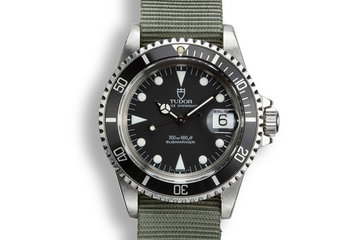 1990 Tudor Prince Oysterdate Submariner 79090 with Service Papers photo