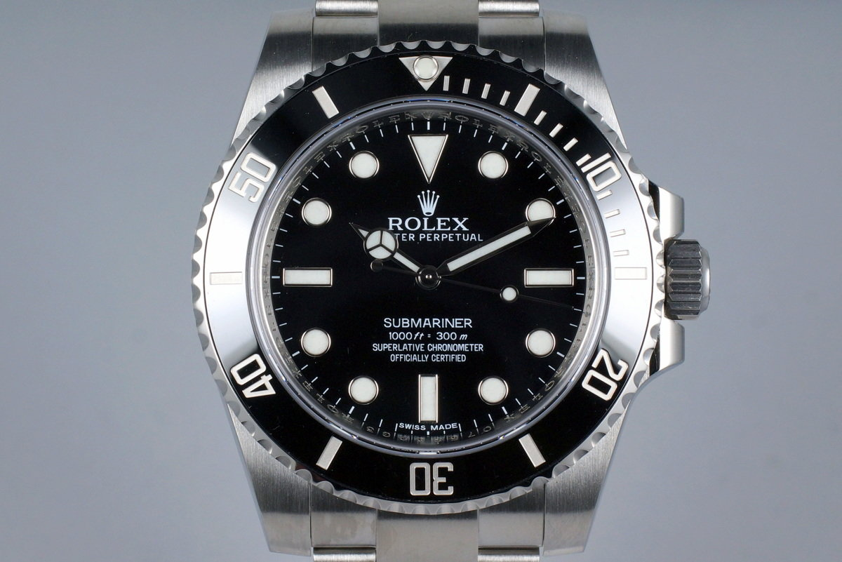 hq milton 2016 rolex submariner 114060 inventory 7588. Black Bedroom Furniture Sets. Home Design Ideas