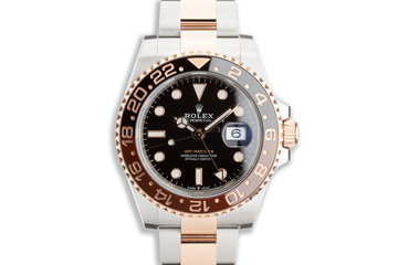 "2020 Rolex EVEROSE GMT-Master II 126711CHNR ""Root Beer"" with box and Card photo"