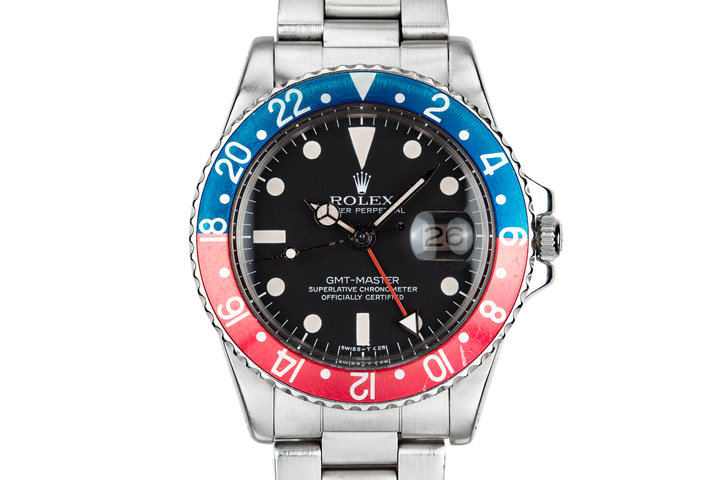 "1977 Rolex GMT-Master 1675 ""Pepsi"" with Box and Papers photo"
