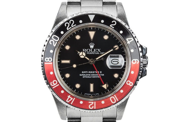 "1986 Rolex GMT-Master II 16760  ""Fat Lady"" photo"