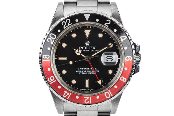 "1986 Rolex GMT-Master II 16760  ""Fat Lady"" photo"