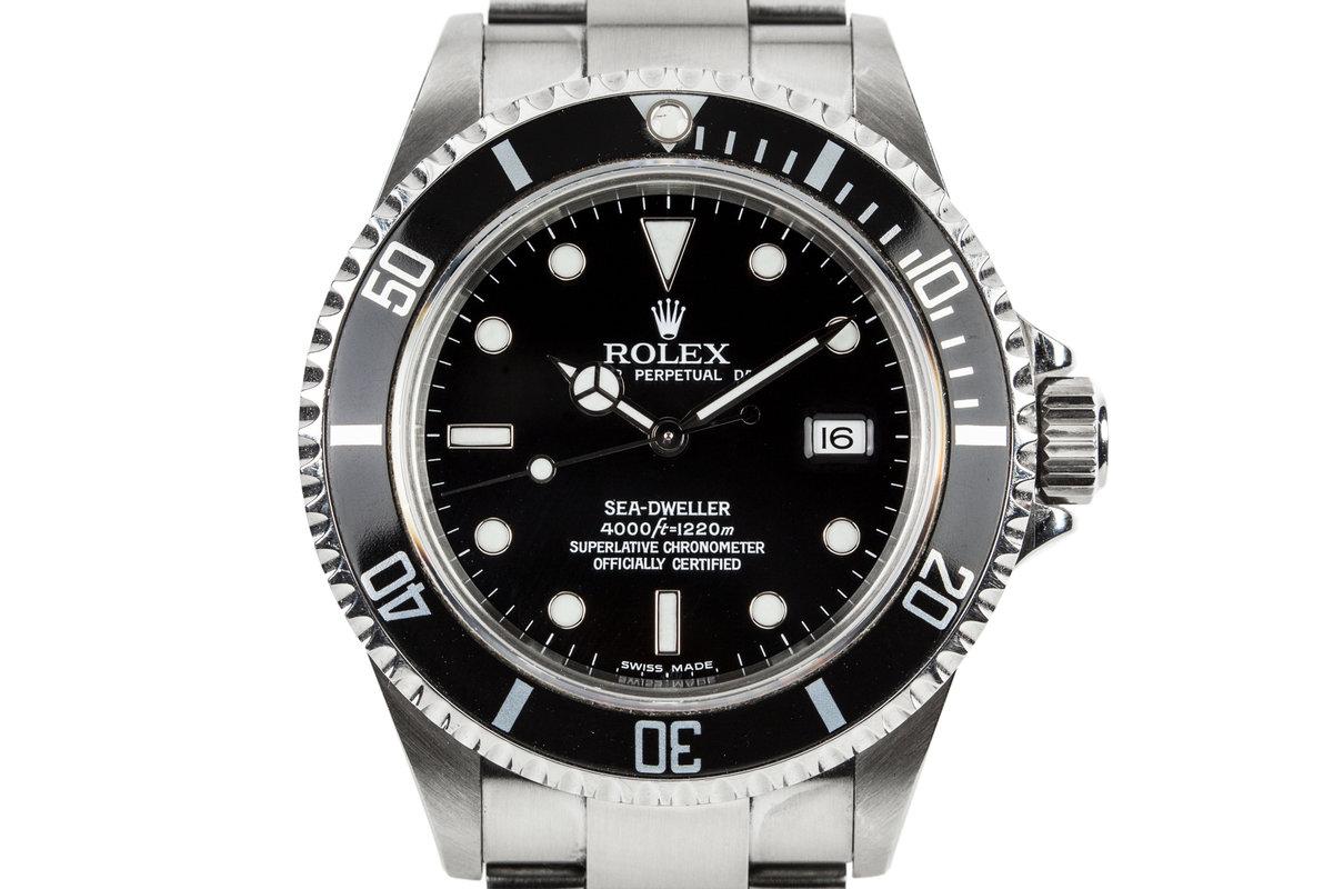 2003 Rolex Sea-Dweller 16600 photo, #0