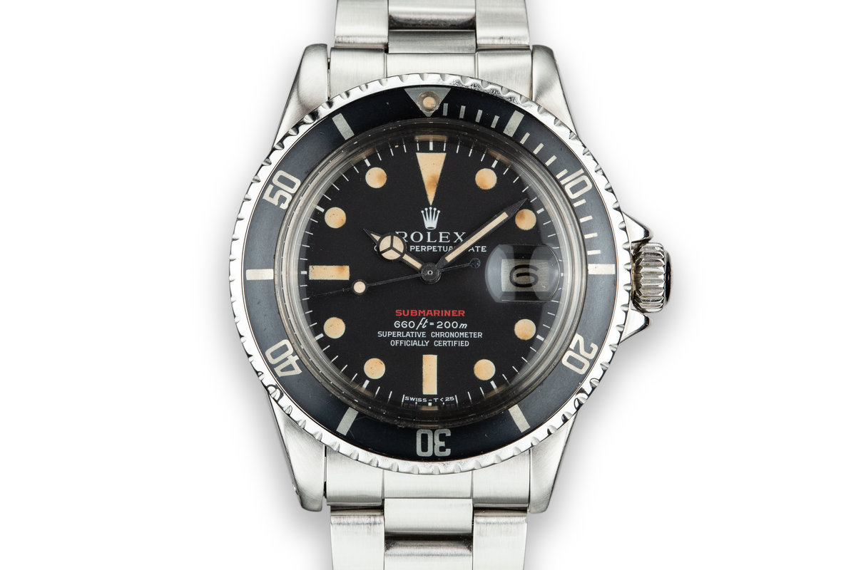 1974 Rolex Red Submariner 1680 with MK IV Dial photo, #0