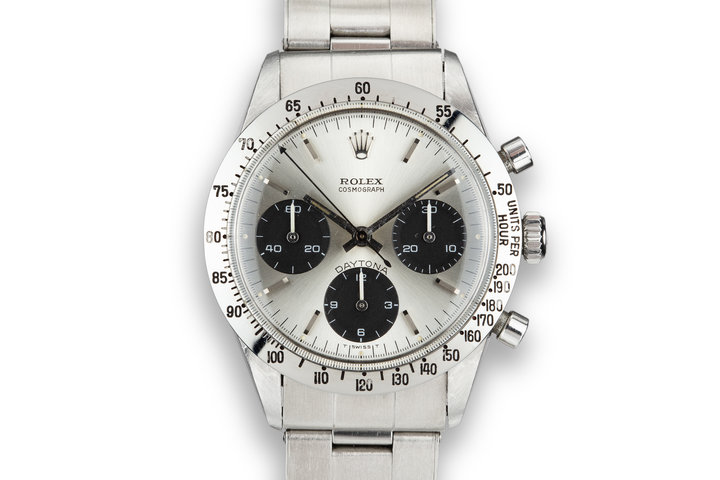 1970 Rolex Daytona 6239 Silver Dial photo