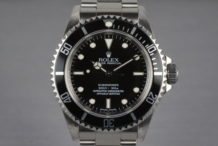 2007 Rolex Submariner 14060M with 4 Line Dial photo