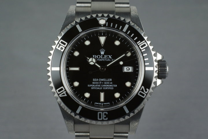 2006 Rolex Sea Dweller 16600T photo