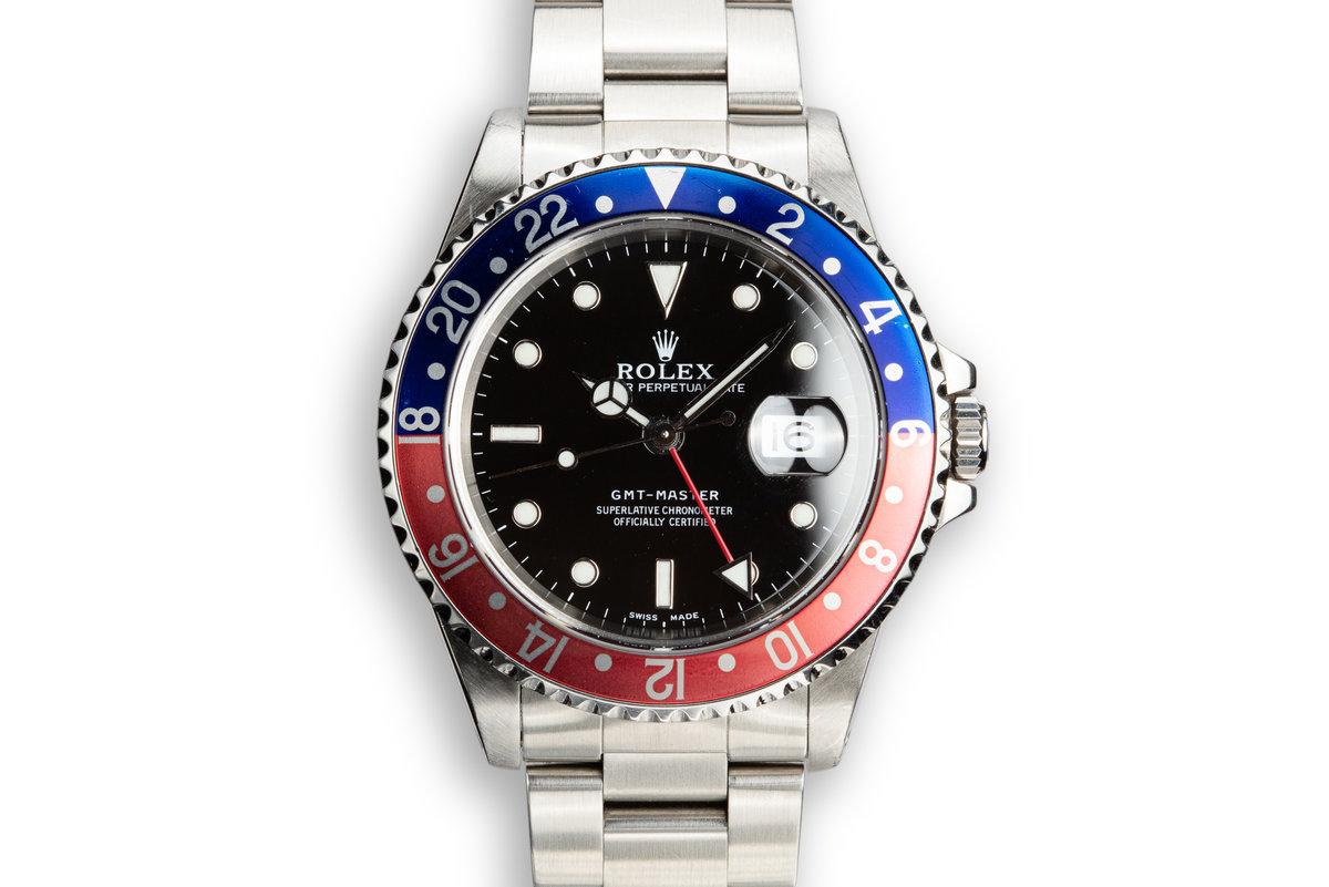 """1999 Rolex GMT-Master 16700 """"Pepsi"""" photo, #0"""