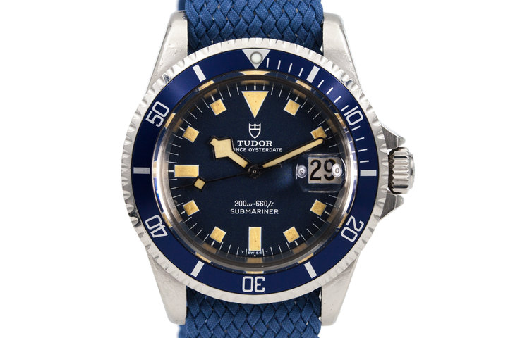 1969 Tudor Submariner 7021/0 Blue Snowflake photo