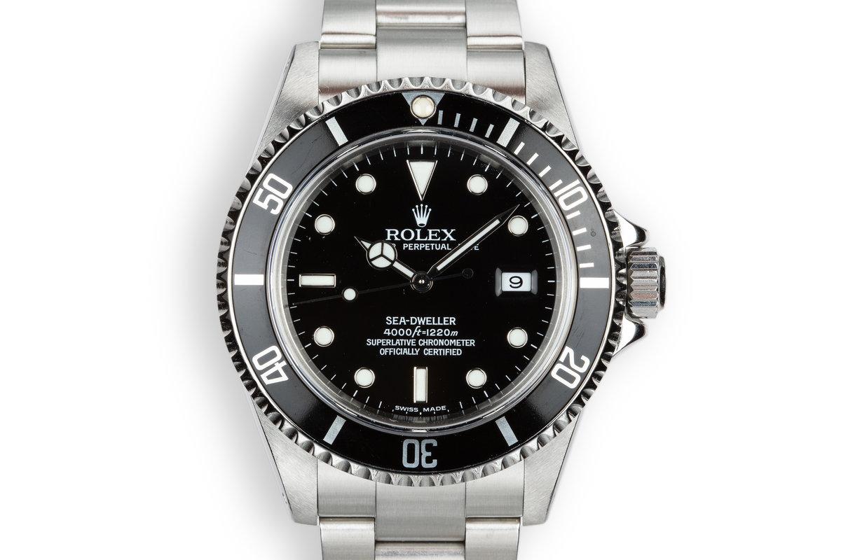 2000 Rolex Sea-Dweller 16600 photo, #0