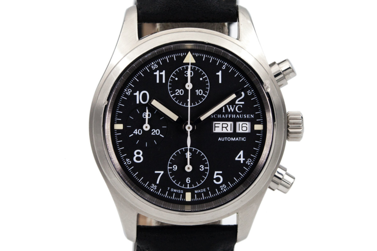 IWC Flieger Chronograph IW3706 with Box photo, #0