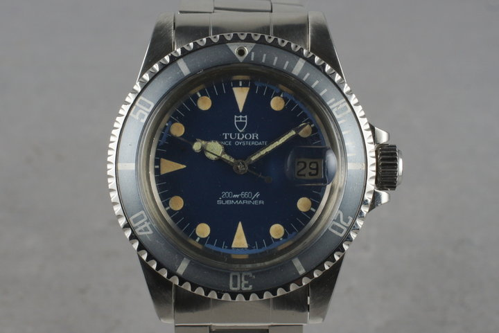Tudor Submariner 76100 with Non-Mercedes Hand photo