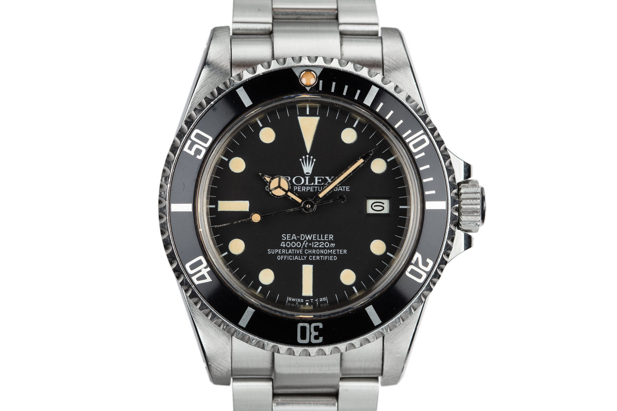 1983 Rolex Sea-Dweller 16660 Matte Dial photo, #0