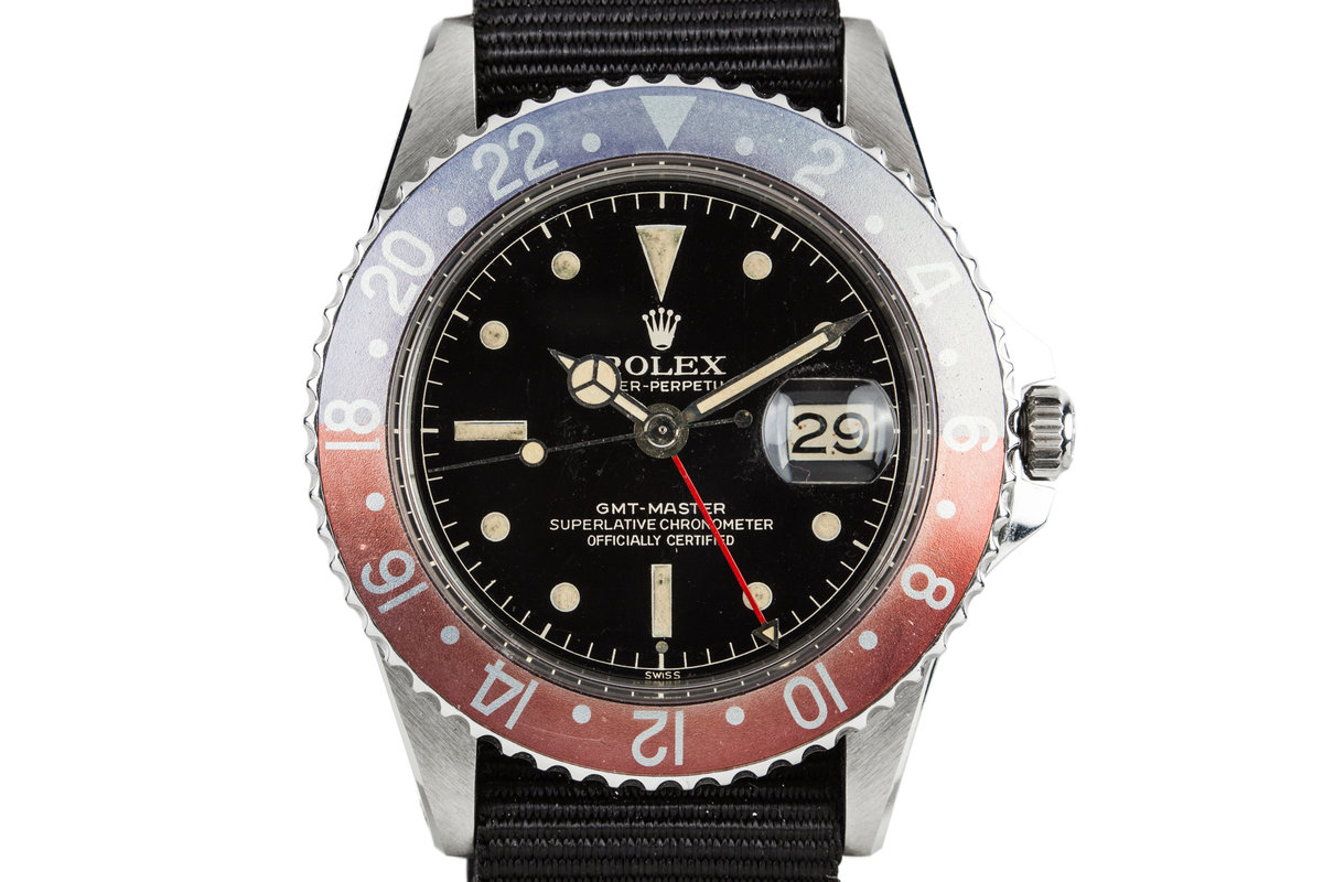 1961 Rolex GMT-Master with Gilt Chapter Ring Exclamation Dial photo, #0