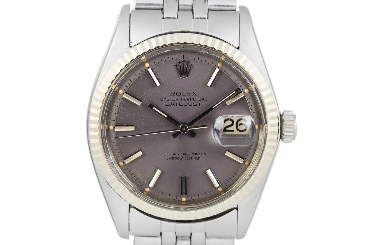 1968 Rolex Datejust 1601 Grey Dial photo, #0