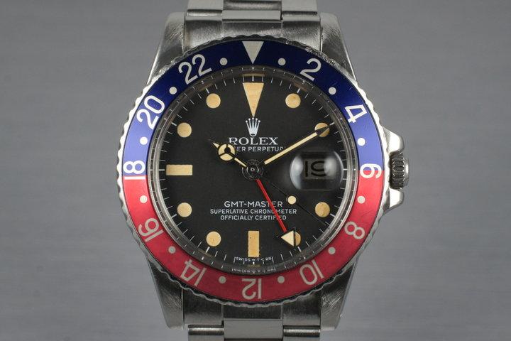 1979 Rolex GMT 1675 photo