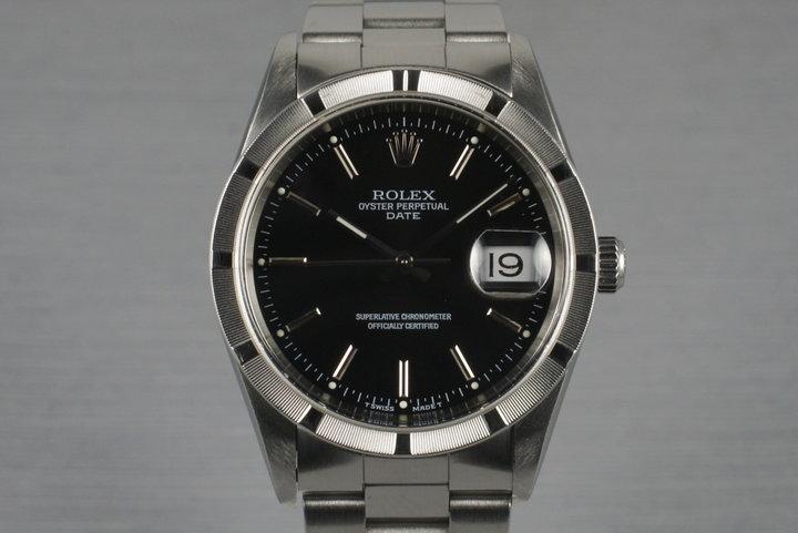 1999 Rolex Date 15210 photo
