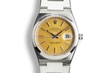 1978 Rolex Oyster Date 1530 Champagne Dial photo