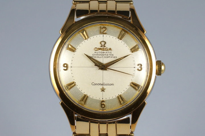 1950's Omega Gold Shell Constellation 2652 Calibre 354 photo