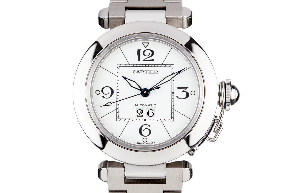 Cartier Pasha 2475 White Dial with Box photo, #0