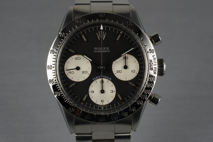1970 Rolex Daytona  6262 with Rolex Service Papers photo
