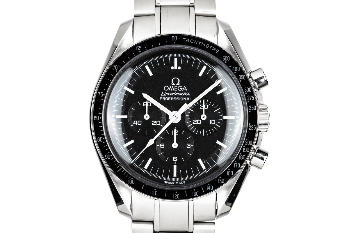 2009 Omega Speedmaster Professional 3570.50.00 with Card photo, #0