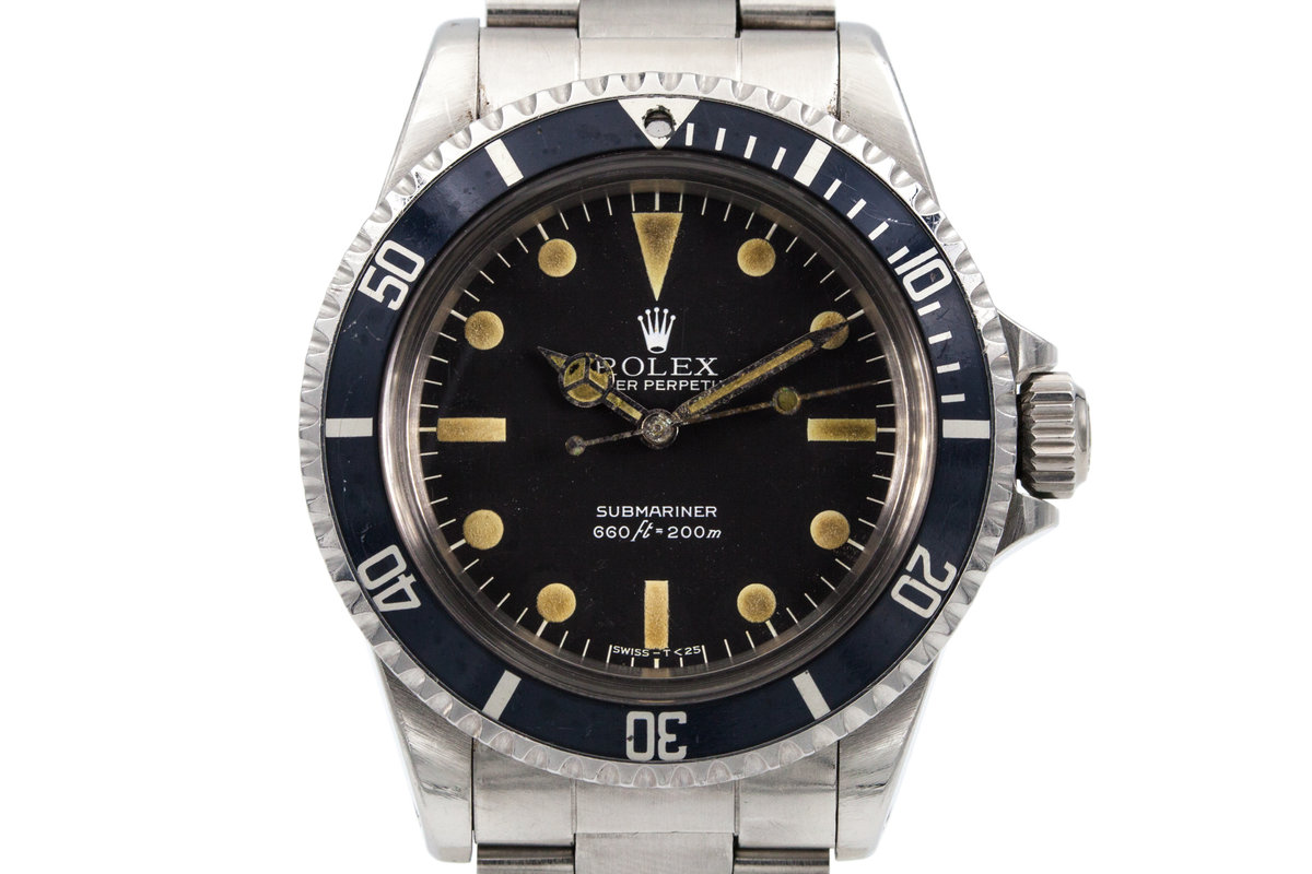 1979 Rolex Submariner 5513 Mark III Maxi Dial photo, #0