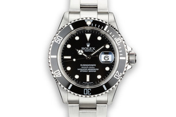 2003 Rolex Submariner 16610 T with Box and Papers photo