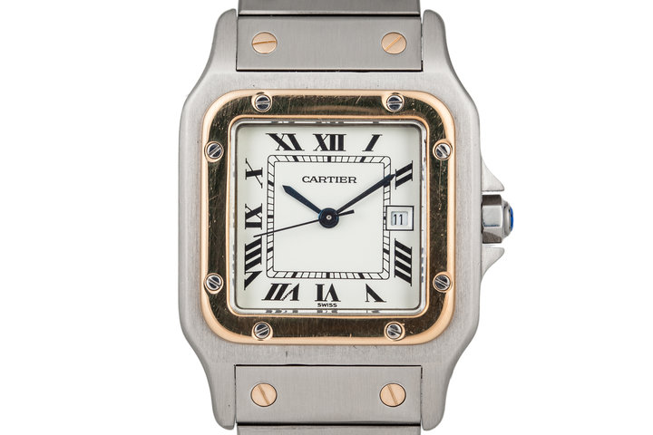 Cartier Santos Galbee 2139 automatic photo