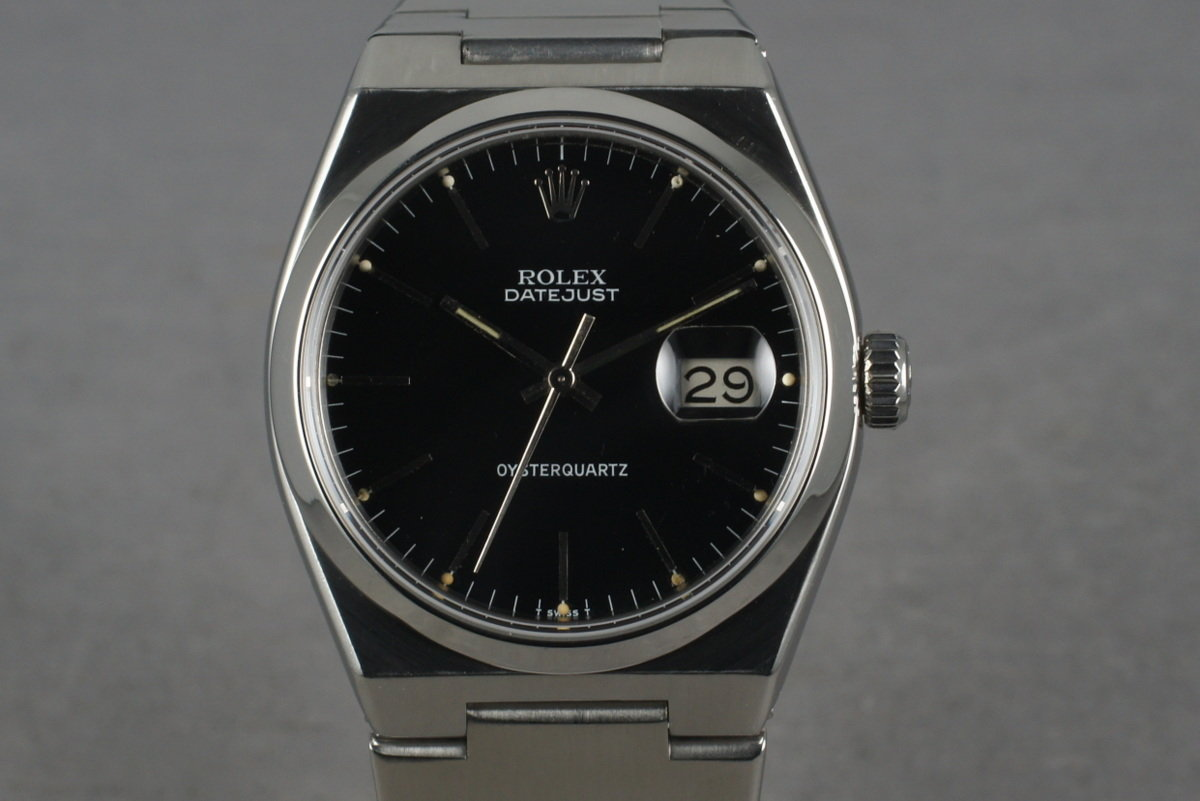 1978 Rolex Oysterquartz Steel 17000 Black Dial photo, #0
