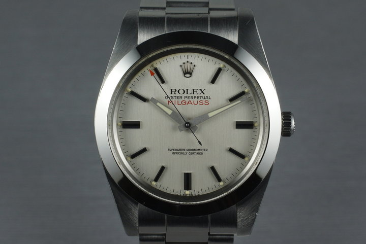 1989 Rolex Milgauss 1019 with Box and Papers photo