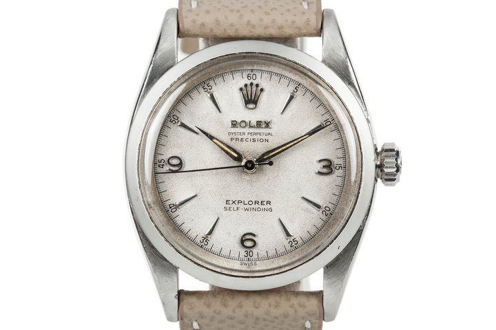 1953 Rolex Oyster Perpetual Explorer 6298 Swiss Only Dial photo